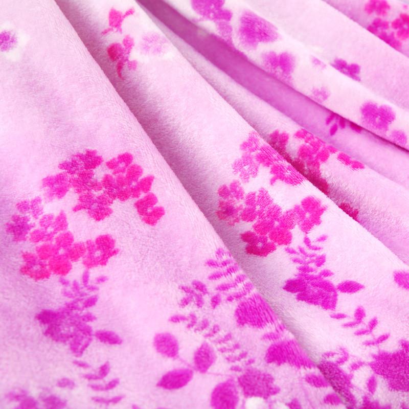 雅美奇 2%-3%春秋植物花卉田園 毛毯