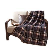 2%-3%珊瑚绒毯春秋条纹简约现代 毛毯