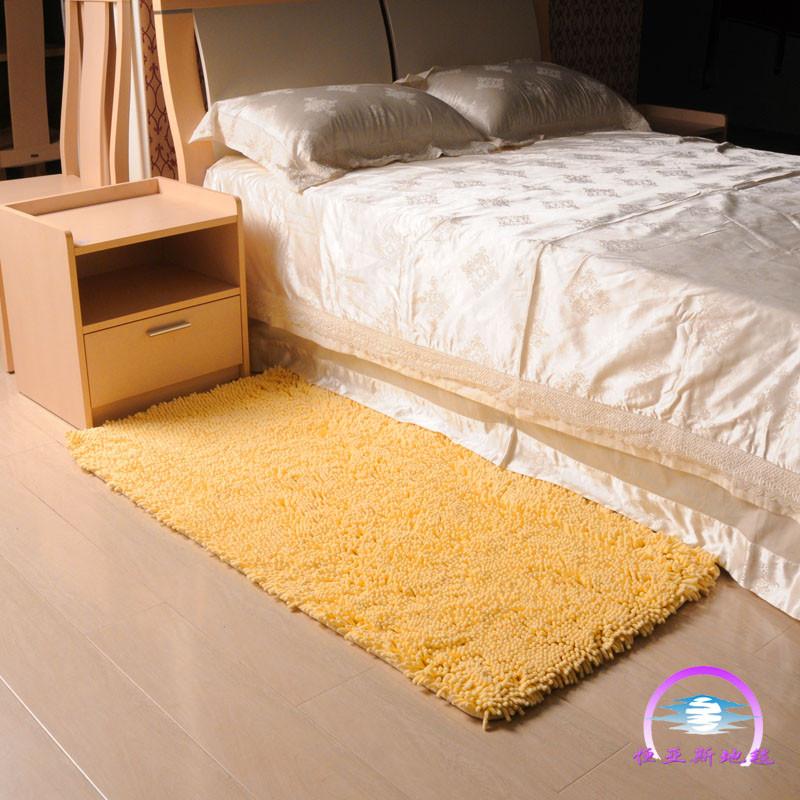 恒亚斯地毯雪尼尔现代中式纯色长方形日韩机器织造地毯