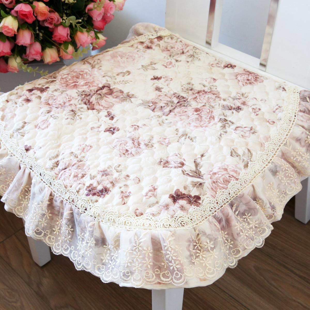 一朵布植物花卉欧式坐垫