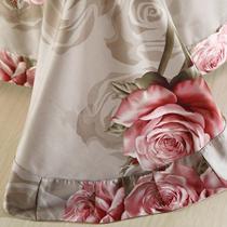 欧式斜纹植物花卉床单式简约风 HXL105床品件套四件套