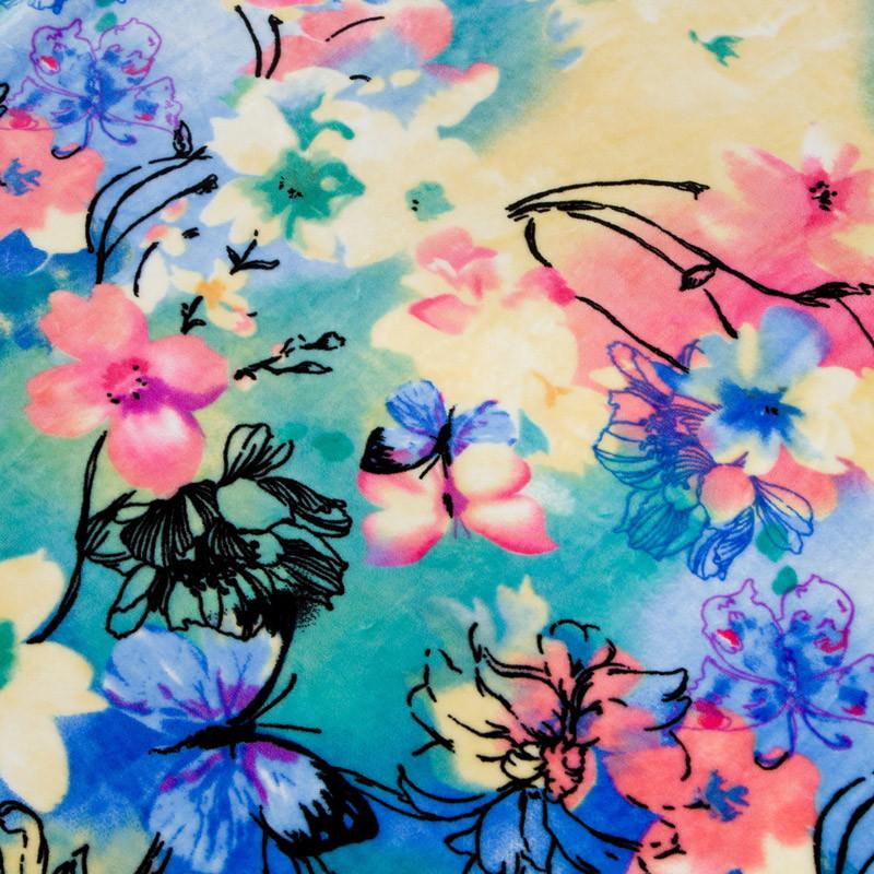 完美紫馨珊瑚绒毯冬季几何图案毛毯
