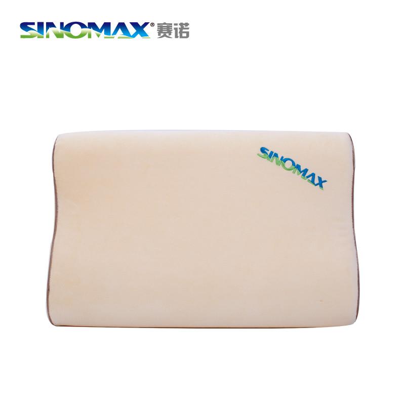赛诺图片色一等品涤棉记忆棉长方形-枕头