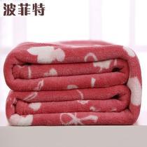 2%-3%珊瑚绒毯一等品冬季几何图案简约现代 hd225毛毯