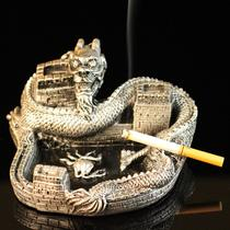 富贵金色吉祥银色树脂 烟灰缸