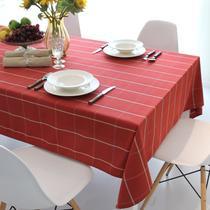 欧13欧11布格子简约现代 桌布
