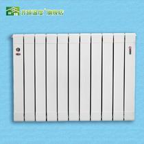铜铝复合普通挂墙式集中供热 暖气片散热器