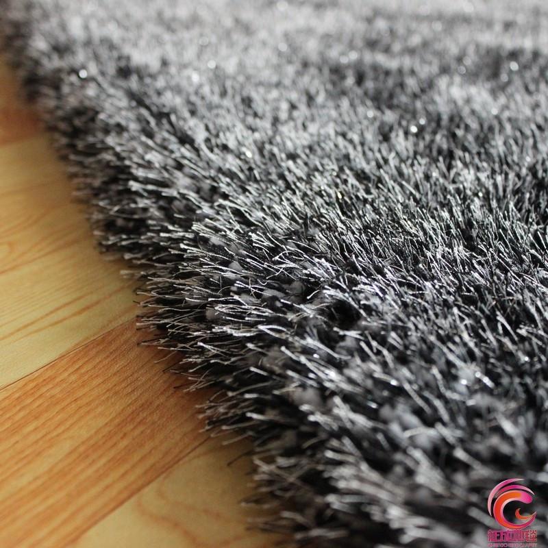 征成 化纤简约现代涤纶纯色长方形日韩机器织造 zctns-0256地毯