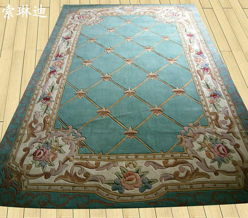 索琳迪羊毛新古典后现代中国风地毯