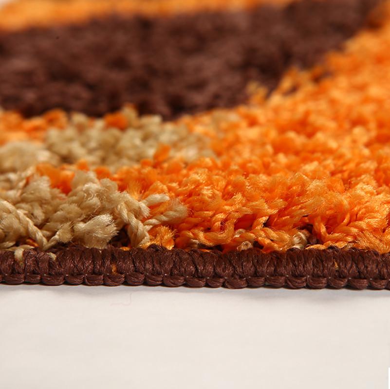 茵花绒面植物花卉美式乡村机器织造地垫