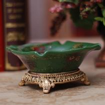 吉翠绿悠烟灰缸陶瓷 烟灰缸