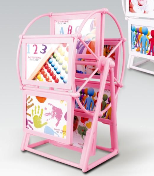 白色粉红色玫红色塑料相架长方形韩式相框