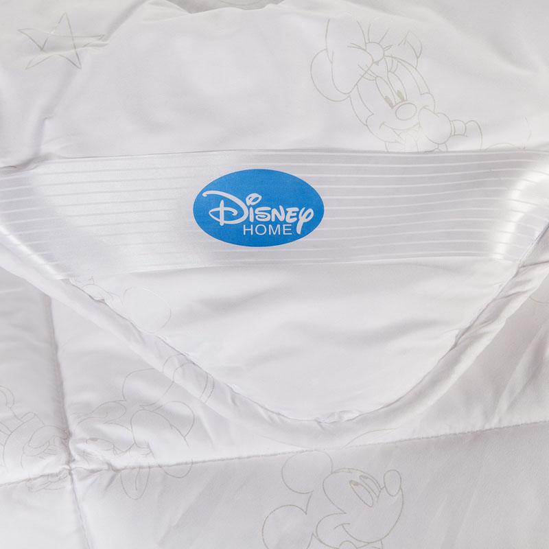 迪士尼白色绗缝七孔纤维冬季平纹布公斤涤纶一等品化纤被子