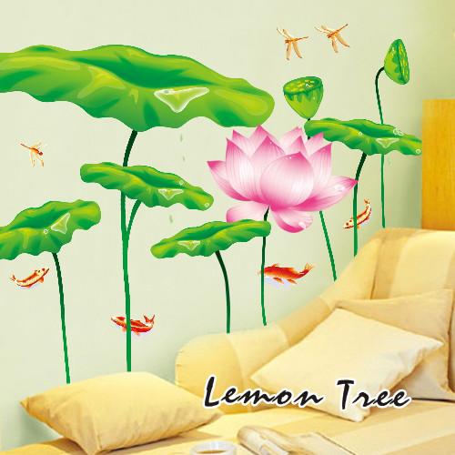 柠檬树平面-墙贴静物墙贴