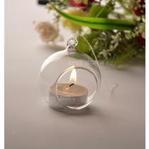 玻璃杯状蜡烛简约现代 烛台