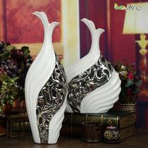 陶瓷台面9047*48—1B花瓶中号简约现代 花瓶
