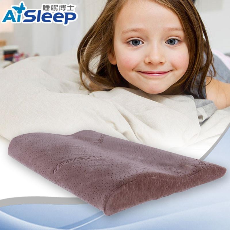 睡眠博士升级款天鹅绒枕套一等品涤棉记忆棉长方形枕头