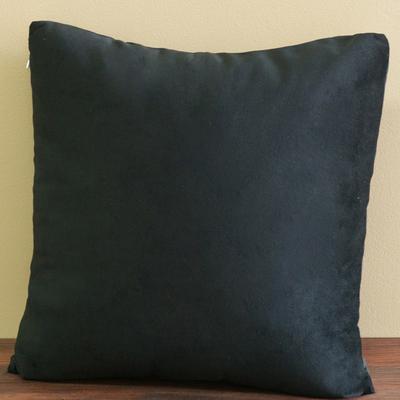 ushy 毛绒KC 1818d短毛绒抱枕靠垫PP棉纯色简约现代 靠垫价格,