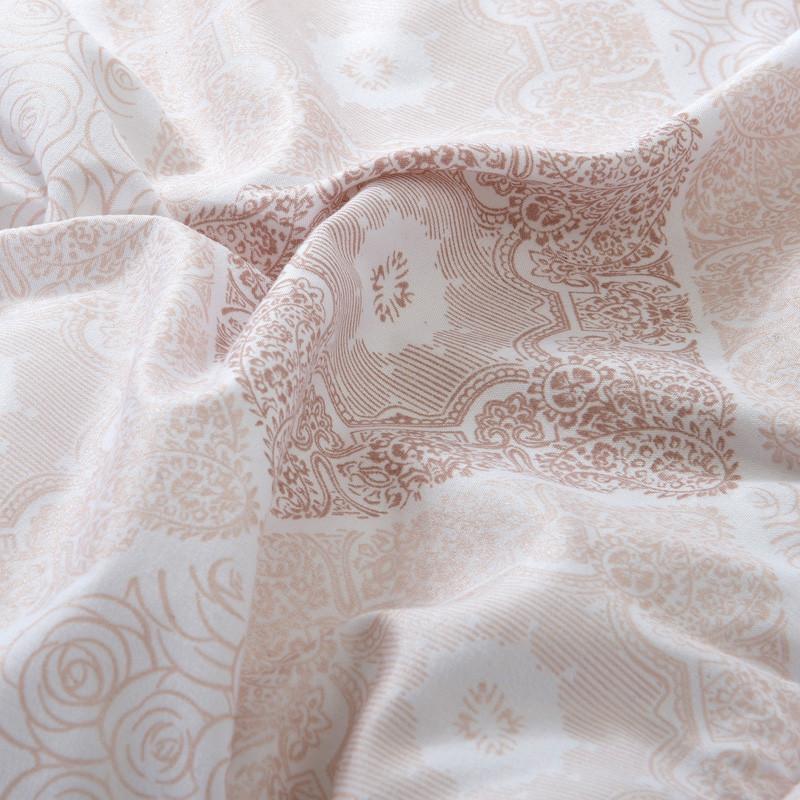 若琳绗缝超细纤维春秋平纹布化纤被子