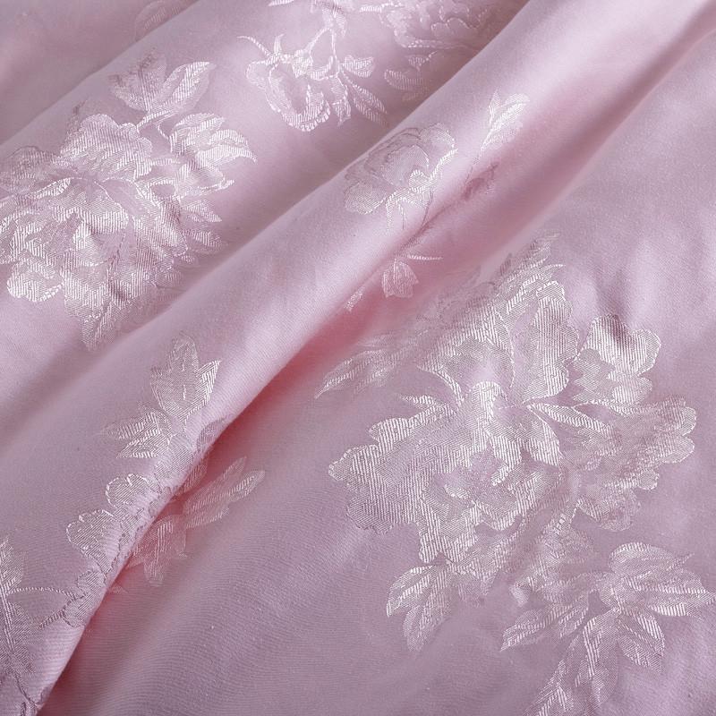 润美桑蚕丝绗缝春秋提花丝棉优等品被子