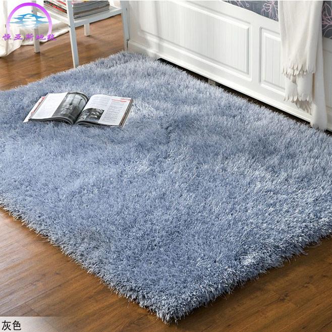 恒亞斯TLS6地毯 化纖簡約現代滌綸純色長方形日韓機器織造 地毯