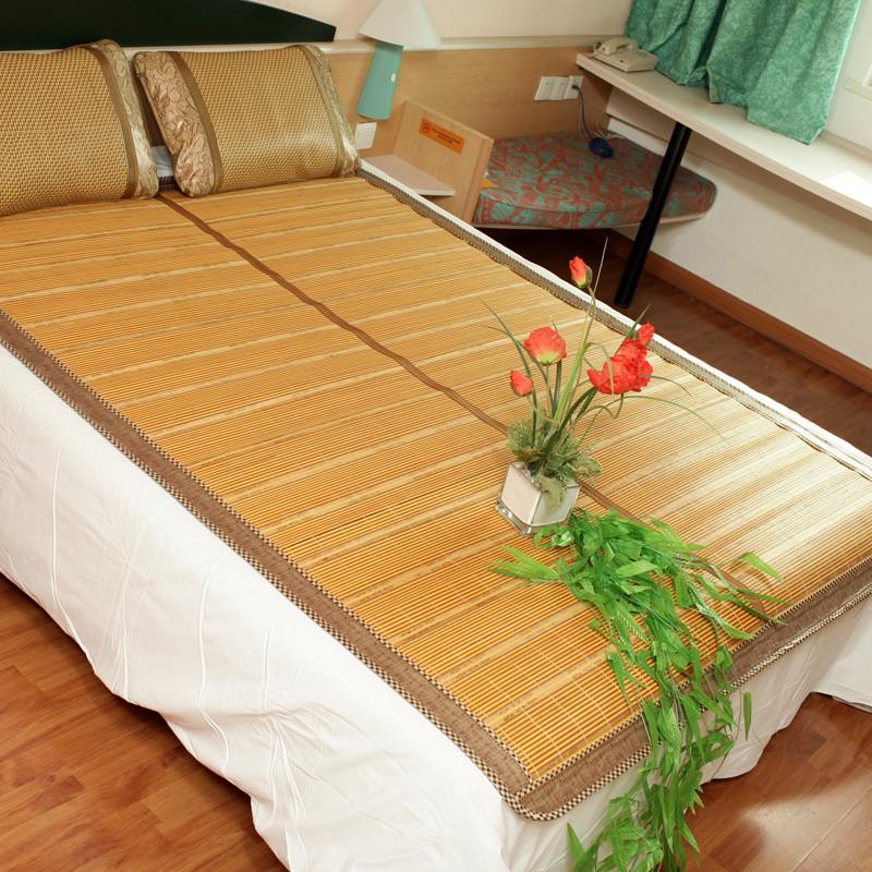天朗佳纺不可折叠可折叠竹床席一等品折叠式凉席竹席