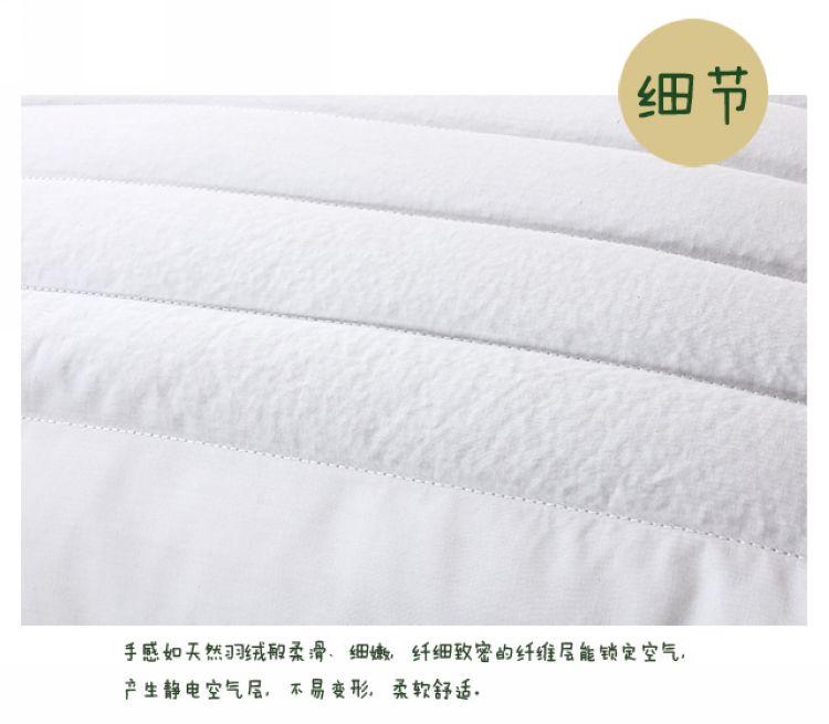 栋轩荞麦枕单只装荞麦壳斜纹布棉布花草长方形枕头