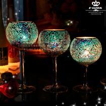 玻璃欧式 PTL014-A烛台