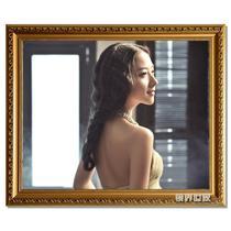 珍珠金珍珠银白色金色木相框长方形韩式 相框