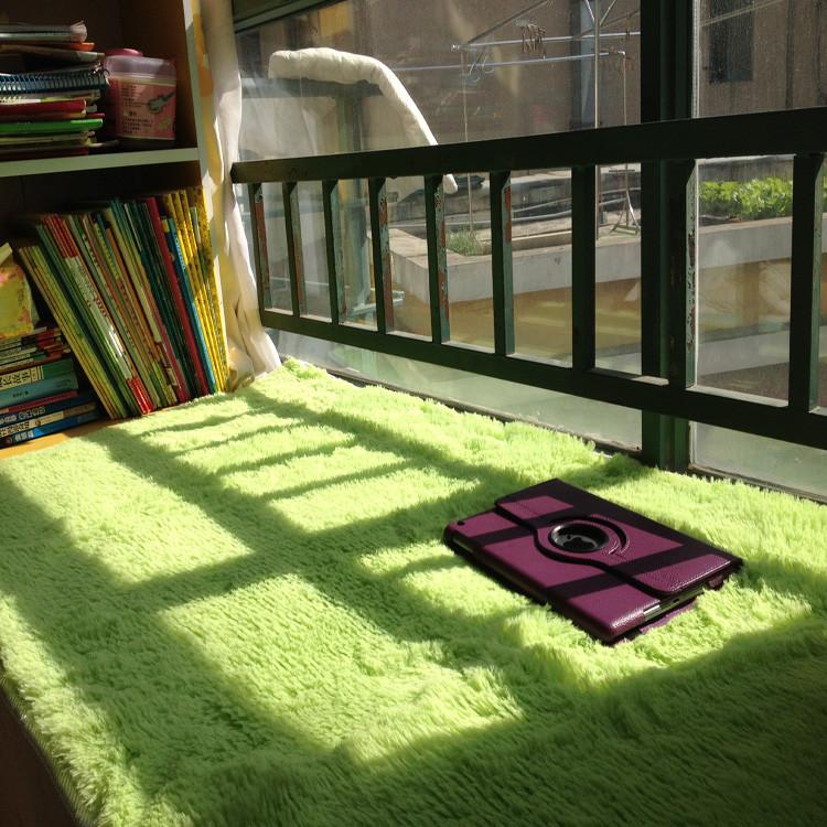 名悅地毯 毛絨純色北歐/宜家 飄窗墊