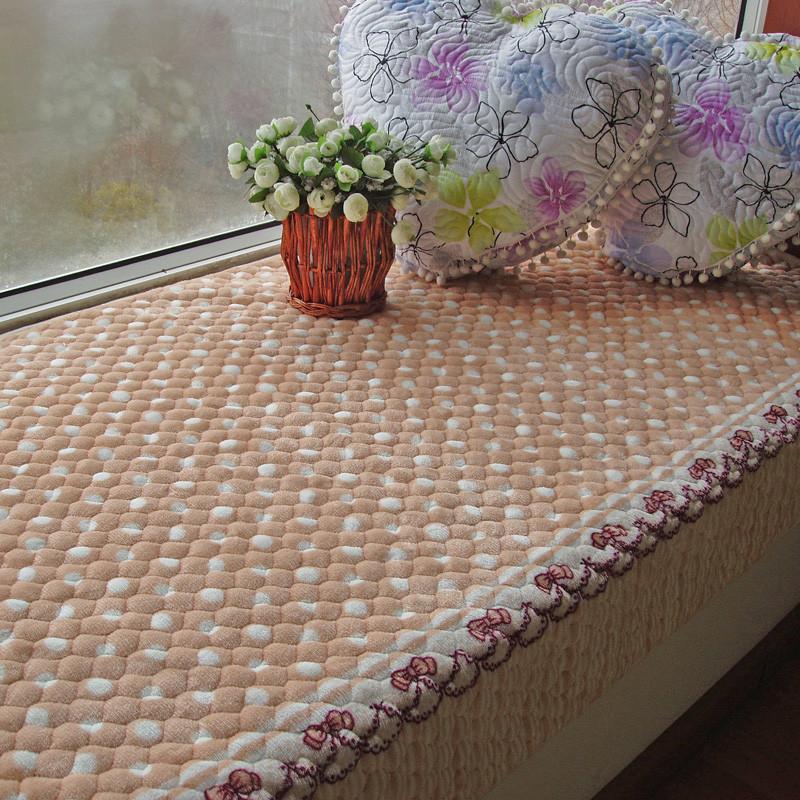 水晶梦 毛绒植物花卉简约现代 SJM-PCD MR-02飘窗垫