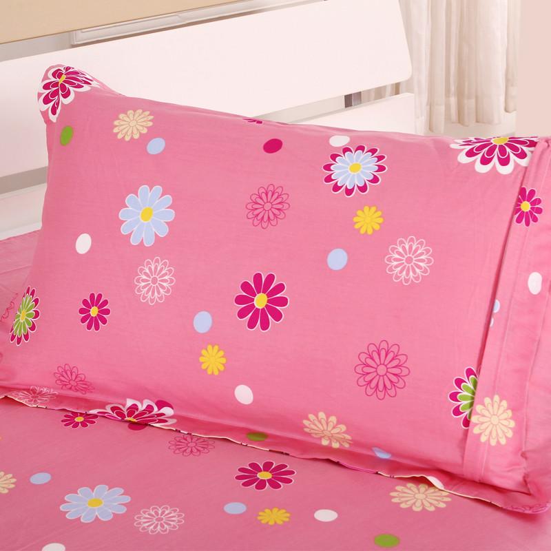 玛克 棉布枕套单人枕用 枕套