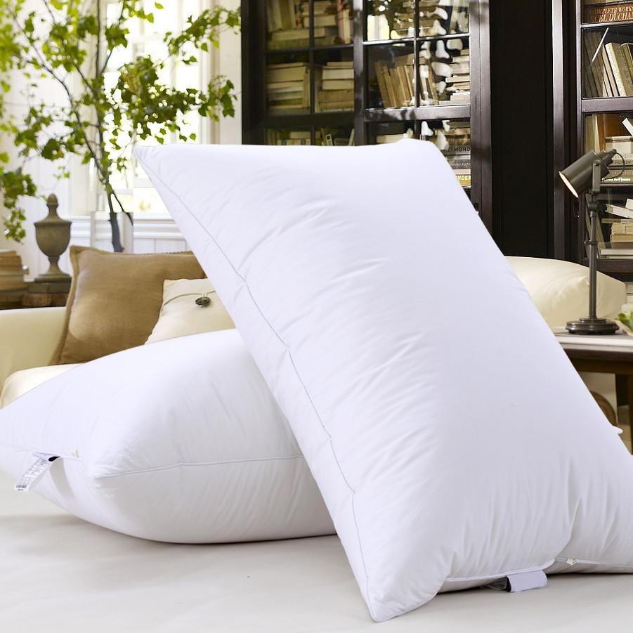 杰翔 平紋一等品棉布羽絨長方形 YZA025-1枕頭護頸枕