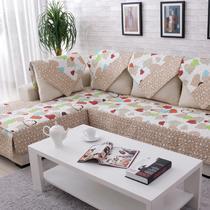布心形组合沙发现代中式 沙发垫