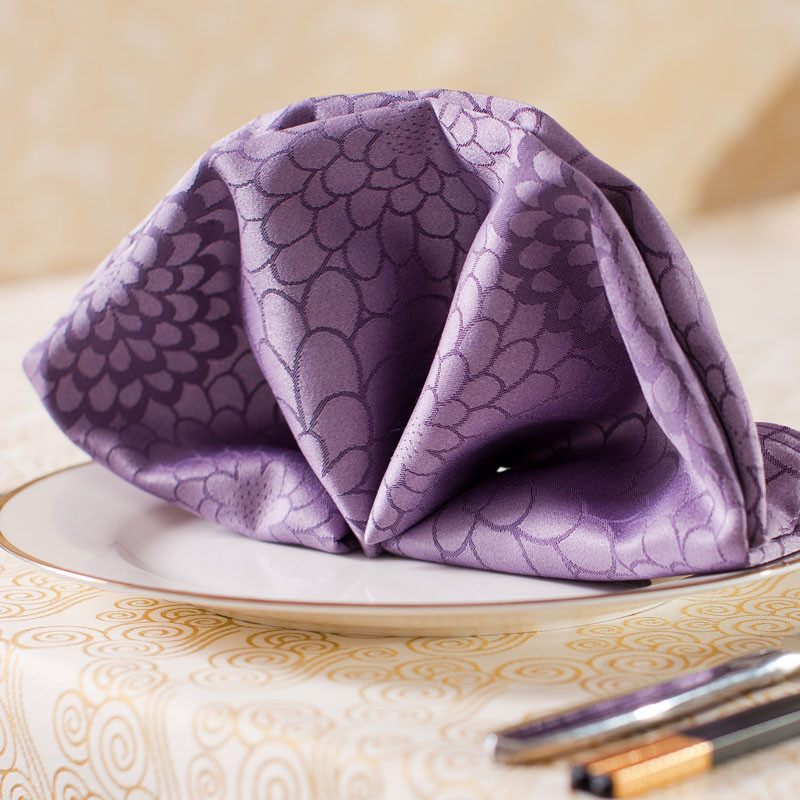 浩然依依 紫色布田園 餐墊
