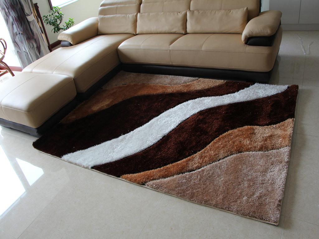 亚亨 蚕丝欧式条纹长方形欧美手工织造 yh-tlt002地毯