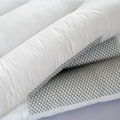 多妮梦平纹棉布纤维枕长方形枕头