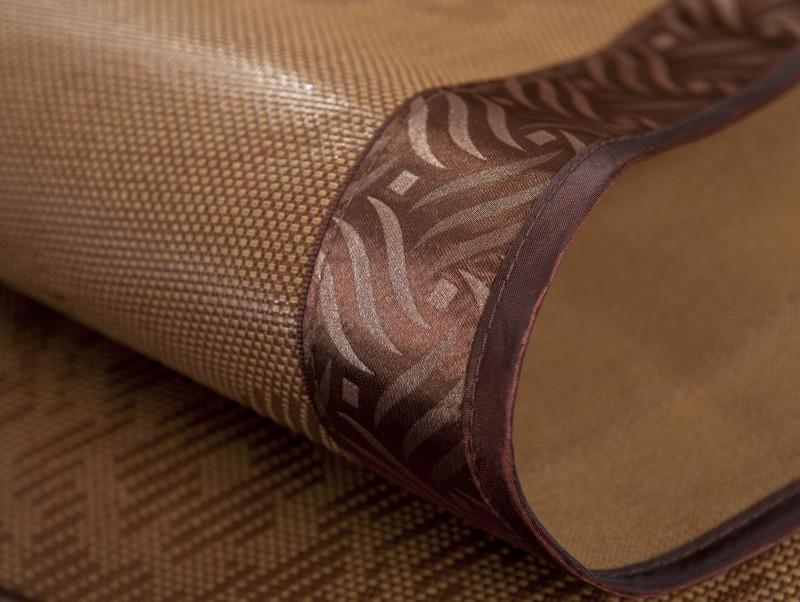 路易希蒙咖啡色藤-凉席套件折叠式凉席