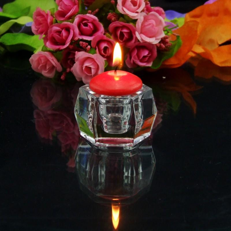 萬得福 玻璃枝形蠟燭歐式 p415燭臺