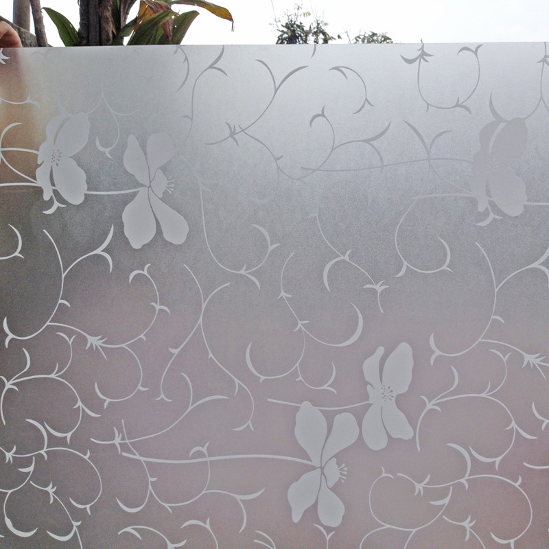 梵彩 抽象图案 玻璃贴膜花藤S001玻璃贴膜