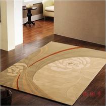 羊毛田园叶子长方形中国风手工织造 地毯