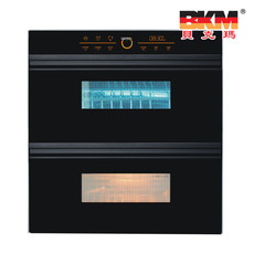 贝克玛电器 厨房消毒柜 ZTD100-K8-18 嵌入式 双开门 紫外线消毒柜