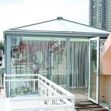 金舰门窗有框阳光房80*44方管 1.4mm