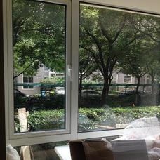 【万增门窗】白色凤铝断桥60中空隔音开窗 上门测量安装