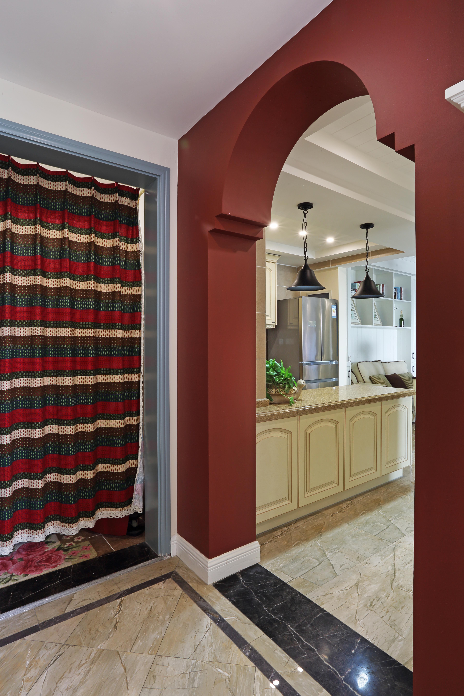古典欧式装修风格别墅客厅垭口设计效果图