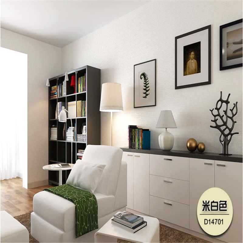 纸尚美学 欧式壁纸客厅素色 非自粘纯色无纺布墙纸卧室电视背景墙