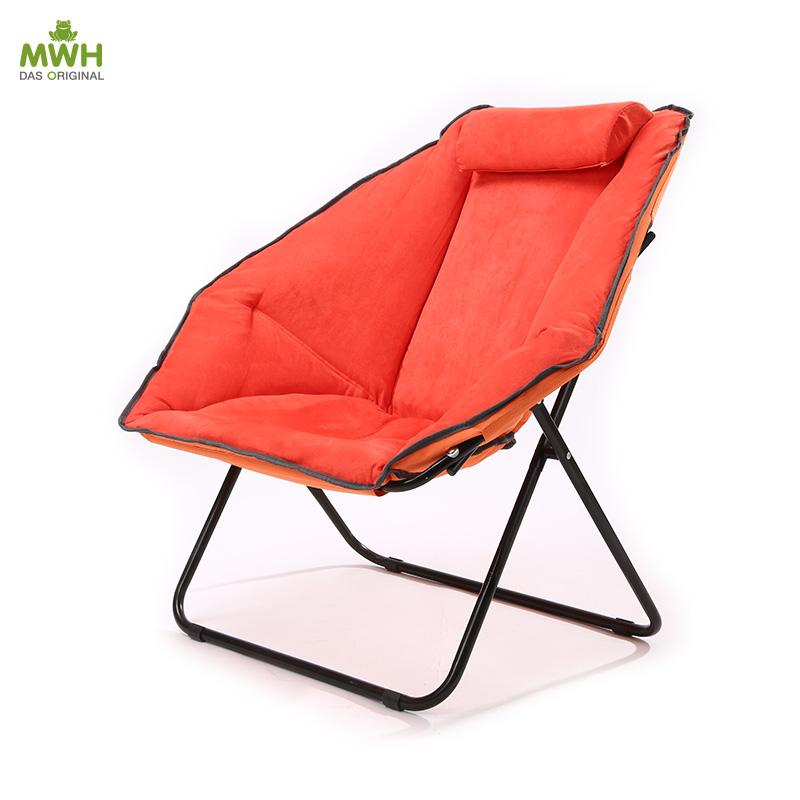 MWH休闲椅-瓦伦折叠椅磨毛靠背椅子 10060024