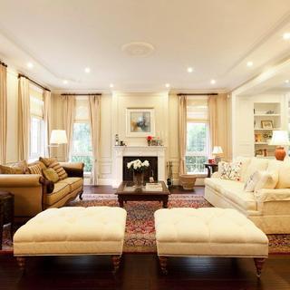 美式舒适优雅别墅装修设计图