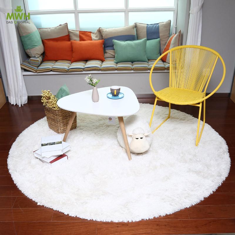 【无货】MWH纺织地毯-北欧现代简约田园风克利夫兰圆形 11510002