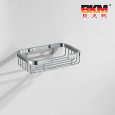 贝克玛卫浴 五金挂件 BKM-WJ0520GL 单层网篮 置物肥皂架 不锈钢|【SUS304不锈钢】厂家直销